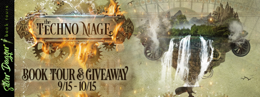 The Techno Mage [Tour: Promo with Excerpt]