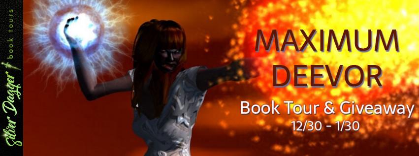 Maximum Deevor [Book Tour Spotlight]