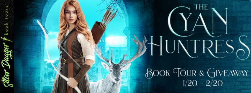 The Cyan Huntress [Book Tour with Excerpt]