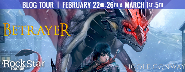 Betrayer [Book Tour with Excerpt]