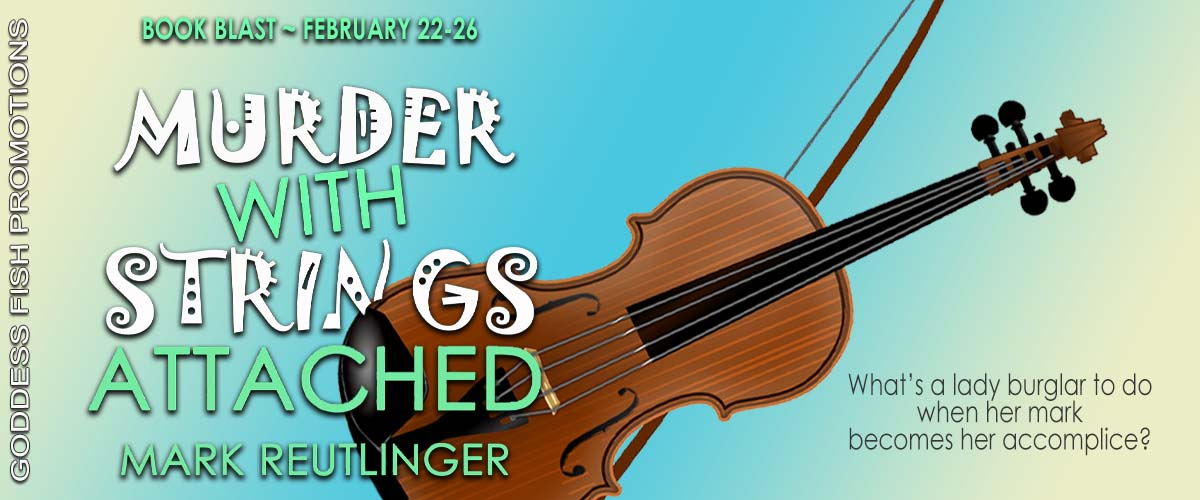 Murder with Strings Attached [Book Tour with Excerpt]