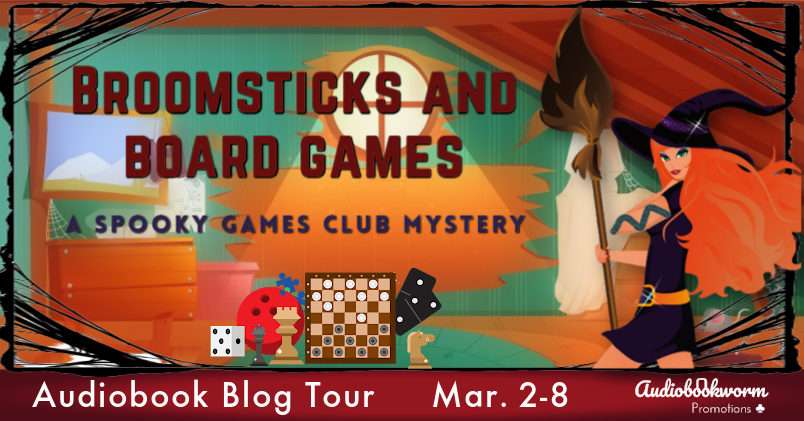 Broomsticks and Board Games – 5 Star Book Review