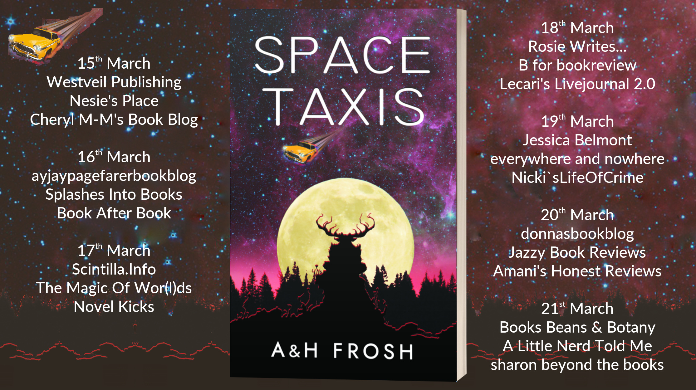 Space Taxis – 5 Star Book Review