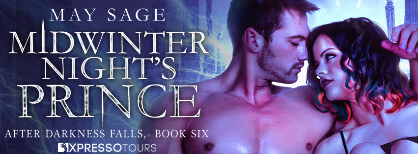 Cover Reveal: Midwinter Night's Prince by May Sage