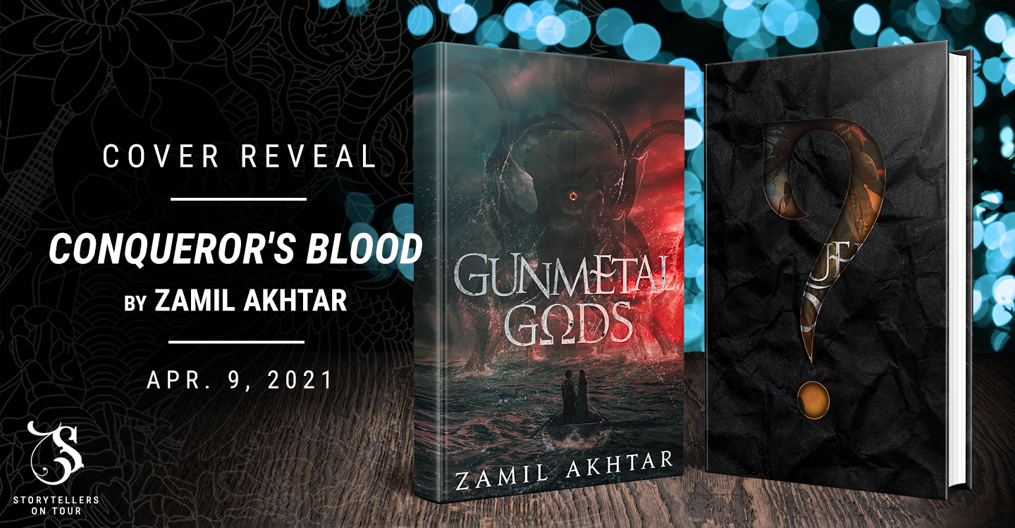 Cover Reveal: Conqueror's Blood by Zamil Akhtar