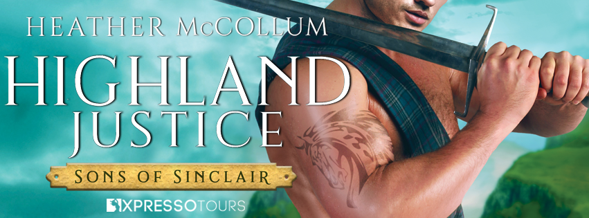 Cover Reveal: Highland Justice by Heather McCollum