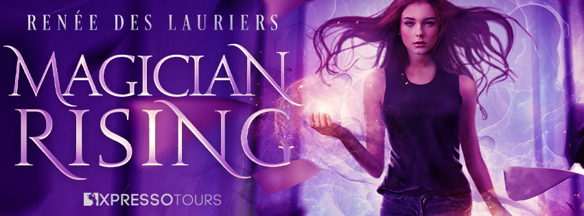 Cover Reveal: Magician Rising by Renée des Lauriers
