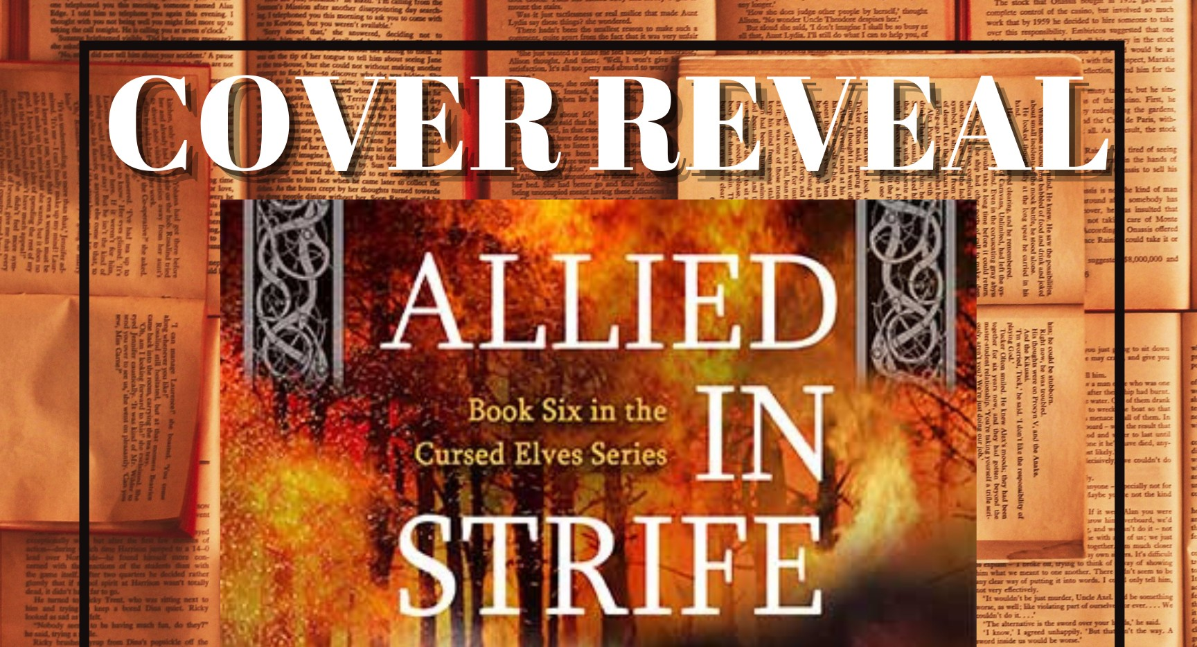 Cover Reveal: Allied in Strife