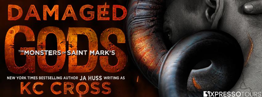 Cover Reveal: Damaged Gods by K.C. Cross