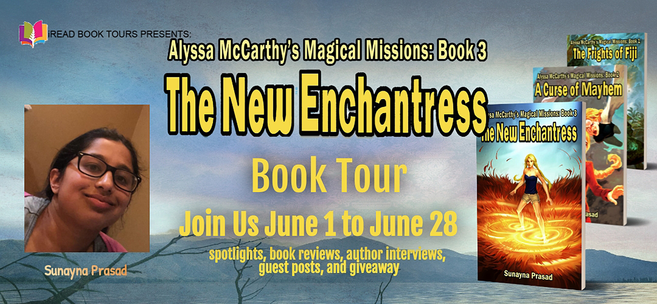 Author Guest Post with Sunayna Prasad + 4 Book Star Review