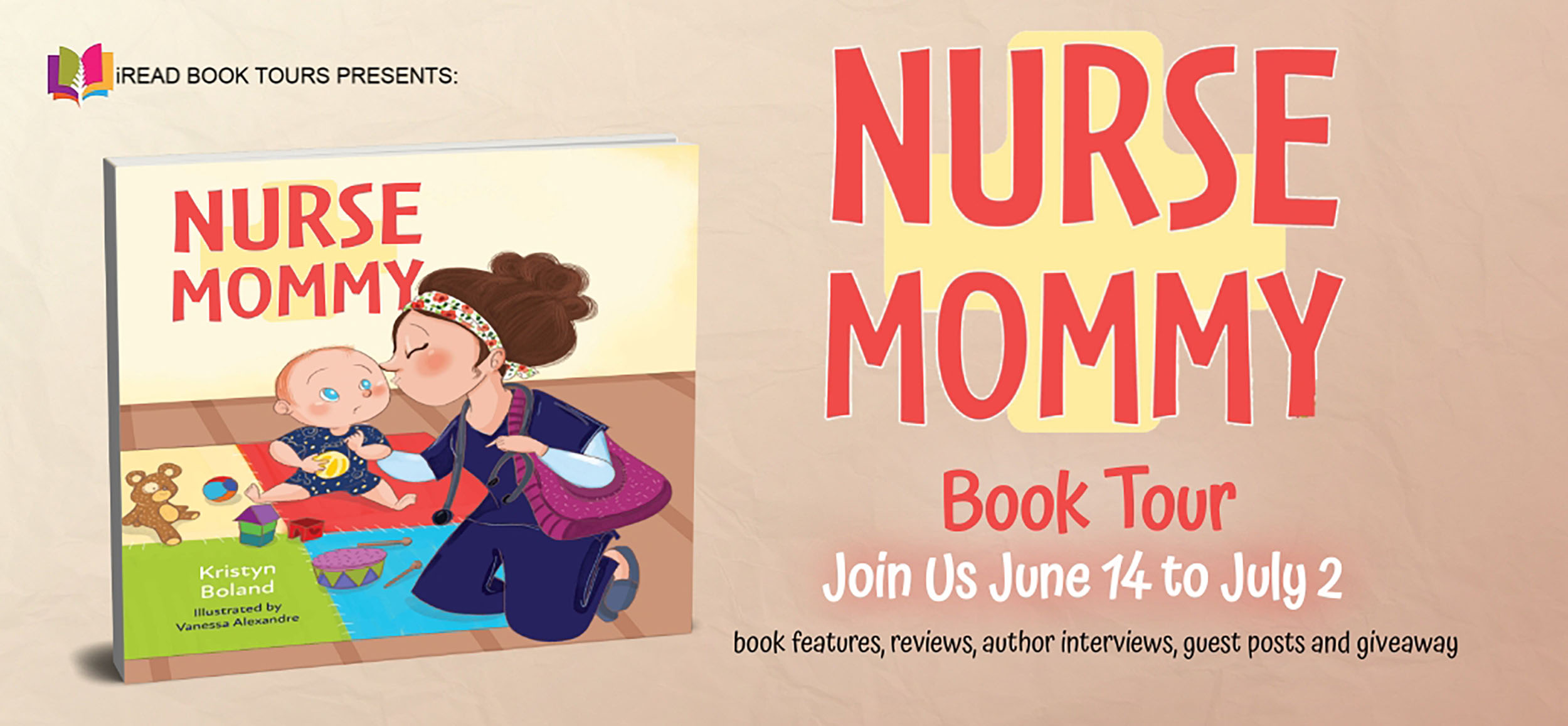 Author Guest Post with Kristyn Boland & 5 Star Review of Nurse Mommy