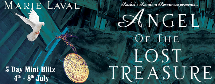 Angel of the Lost Treasure by Marie Laval [Book Tour Spotlight]