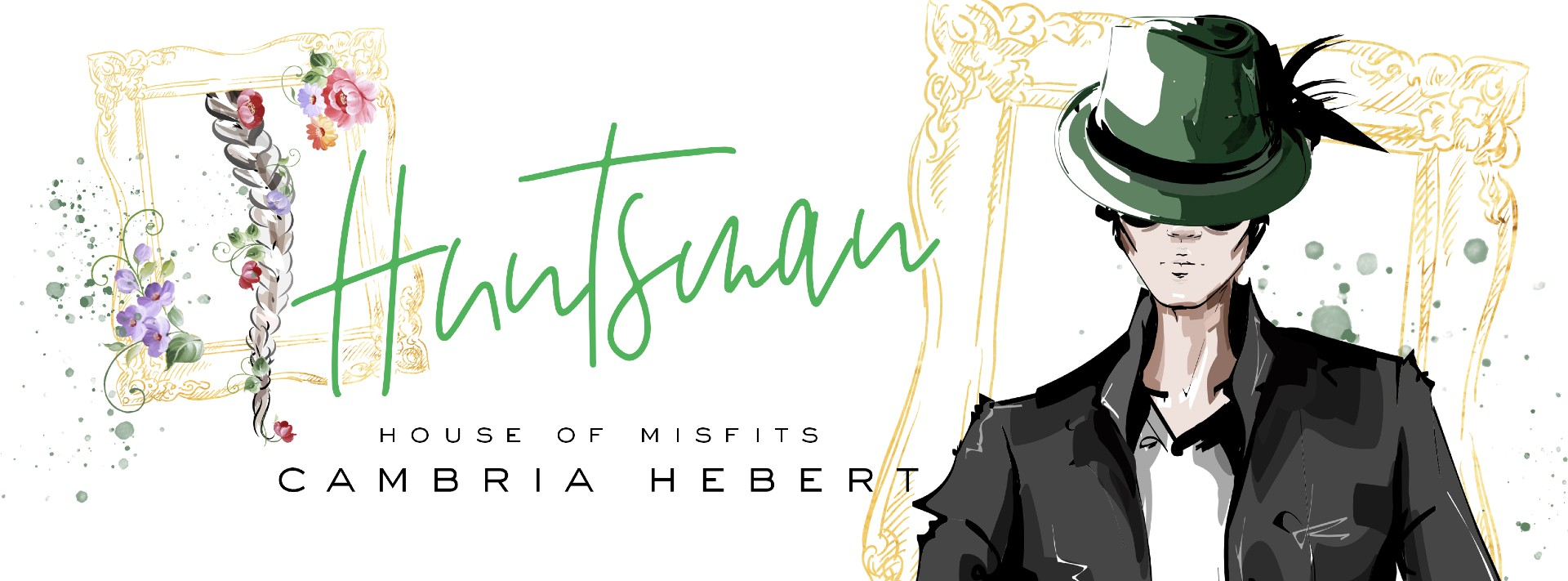 Cover Reveal : Huntsman by Cambria Hebert