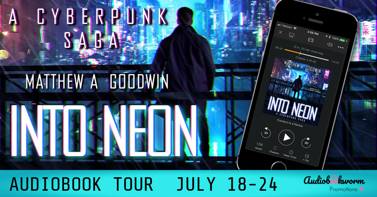 Author Interview & 5 Star Review | Into Neon