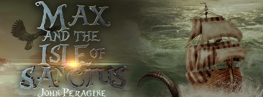 Cover Reveal: Max and the Isle of Sanctus