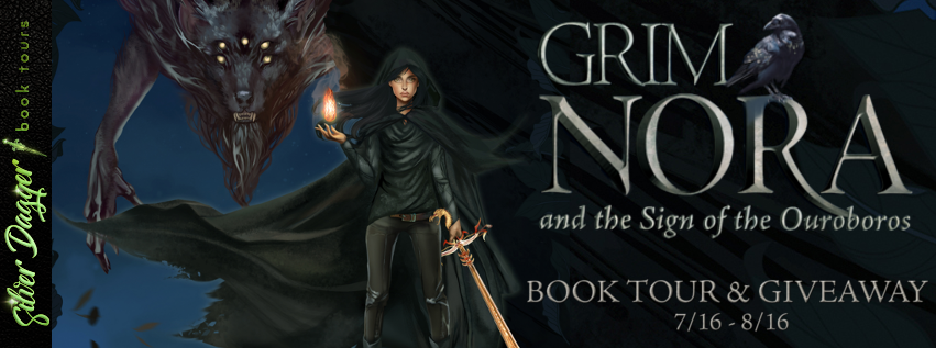 Grim Nora and the Sign of the Ouroboros [Book Tour]