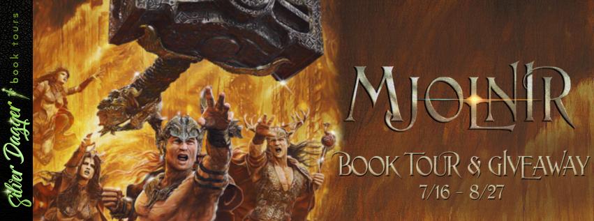 Mjolnir by B.C. James [Book Tour]