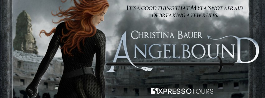 Cover Reveal: Angelbound by Christina Bauer [Foreign Ed.s]