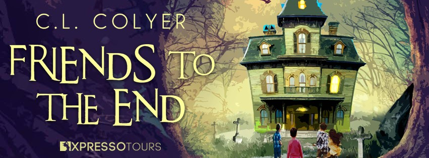 Cover Reveal: Friends to the End by C.L. Colyer