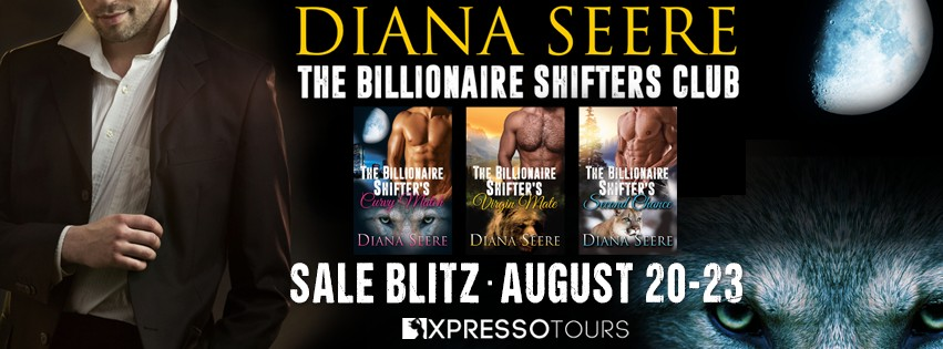 The Billionaire Shifters Club by Diana Seere [Book Blitz]