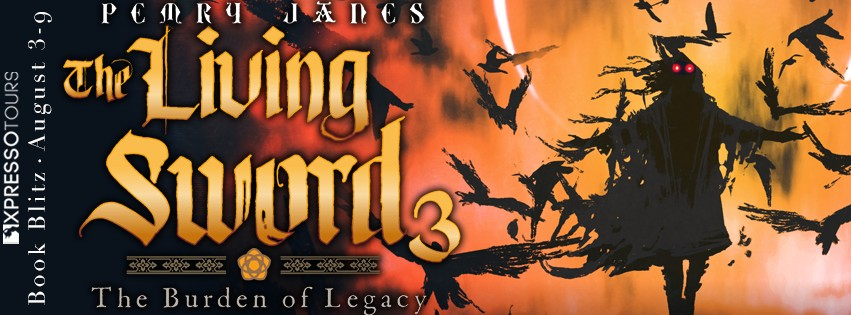 The Living Sword 3 by Pemry Janes [Book Blitz]