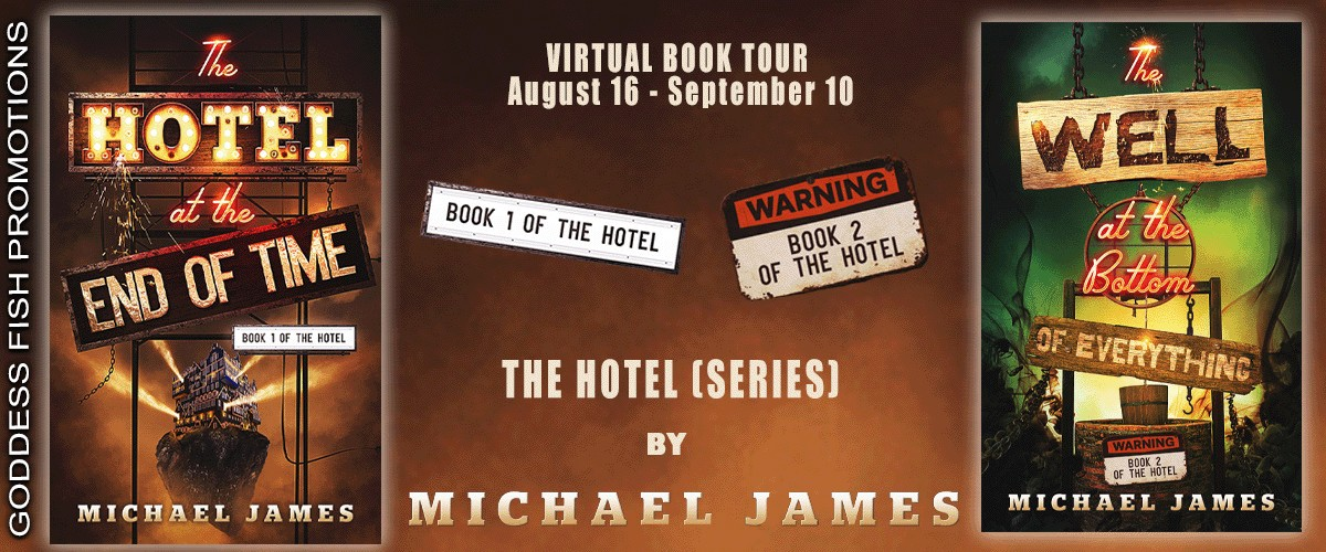 Author Guest Post with Michael James, The Hotel