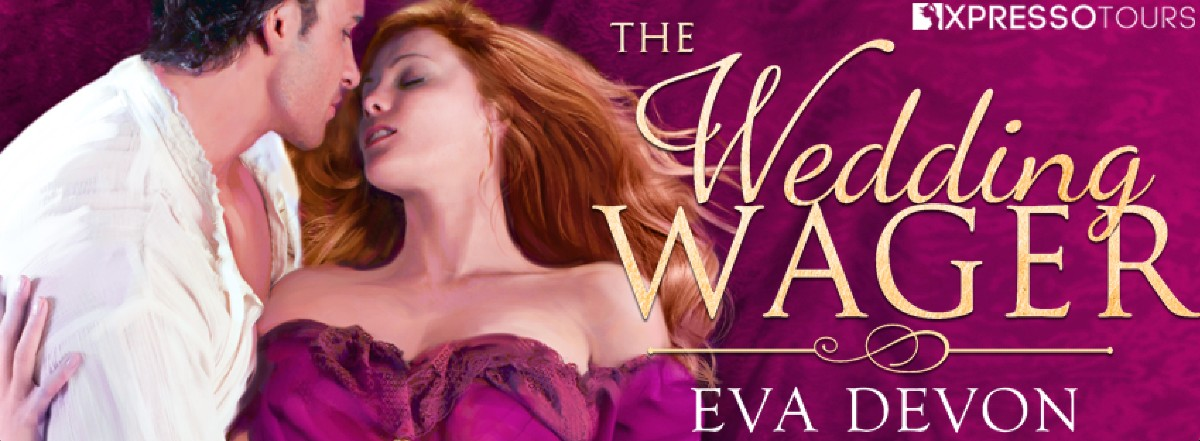 Cover Reveal: The Wedding Wager by Eva Devon