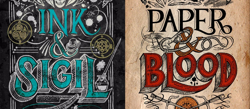 Book Reviews: Ink & Sigil + Paper & Blood by Kevin Hearne