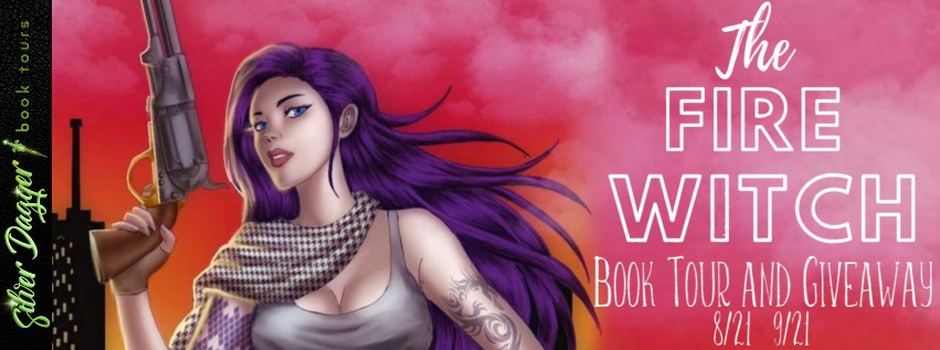 The Fire Witch by Sasha Marshall [Blog Tour w/ Excerpt]