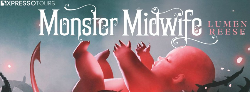 Cover Reveal: Monster Midwife by Lumen Reese