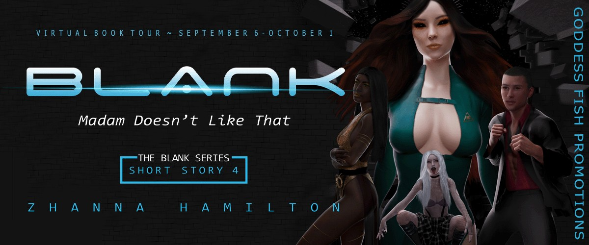 Author Guest Post with Zhanna Hamilton, The Blank Series