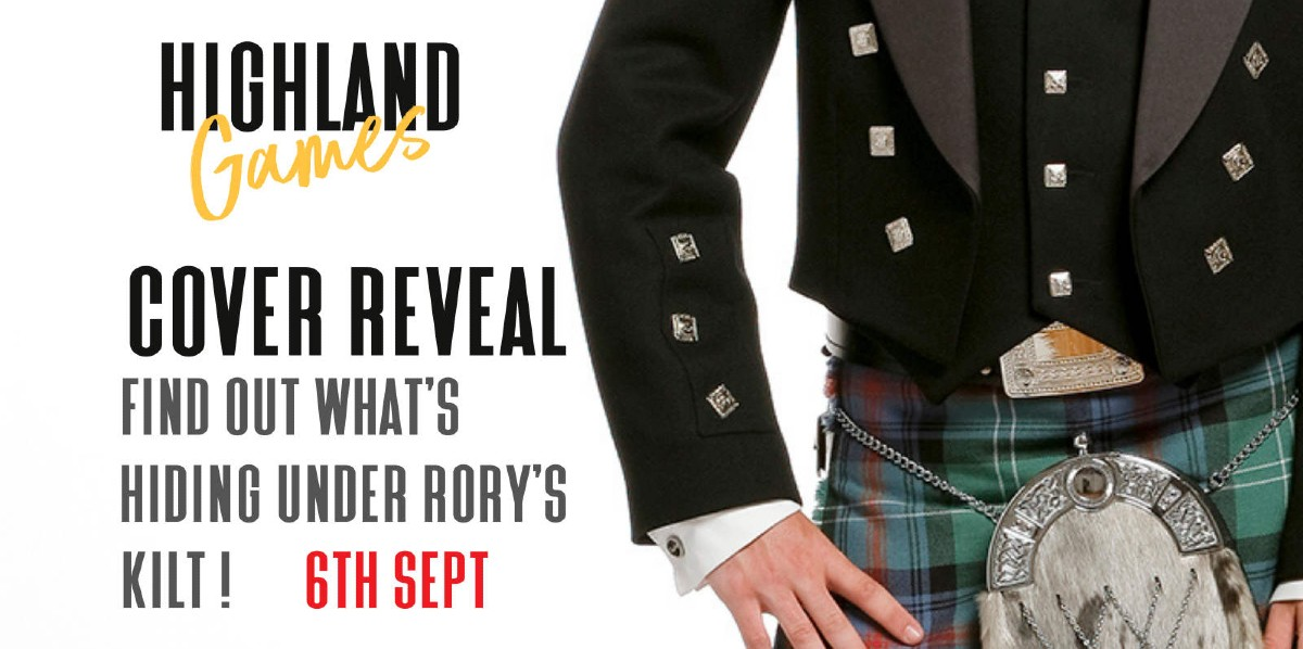 Cover Reveal: Highland Games by Evie Alexander