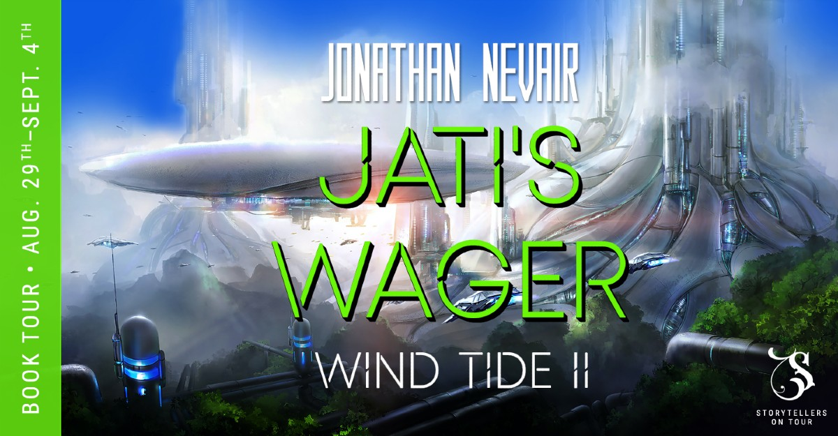 Jati's Wager by Jonathan Nevair – 5 Star Book Review