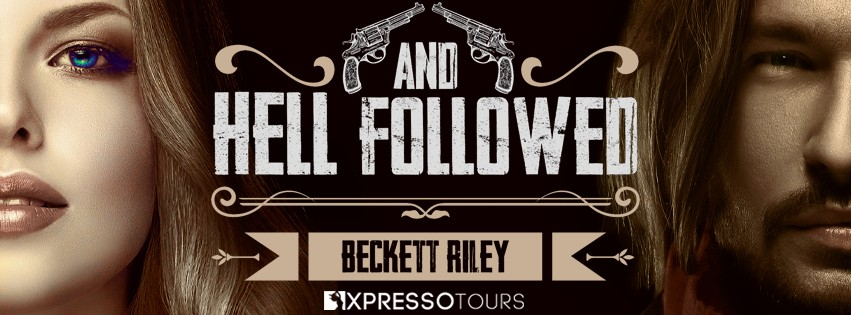 Cover Reveal: And Hell Followed by Beckett Riley