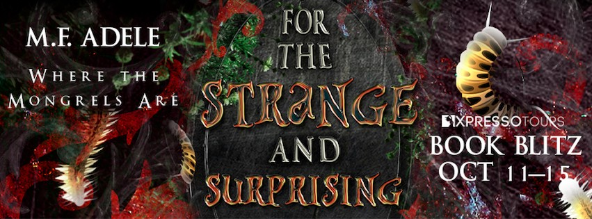 For the Strange and Surprising by M.F. Adele
